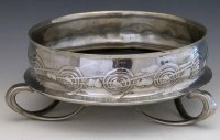 9 - Archibald Knox pewter fruit bowl