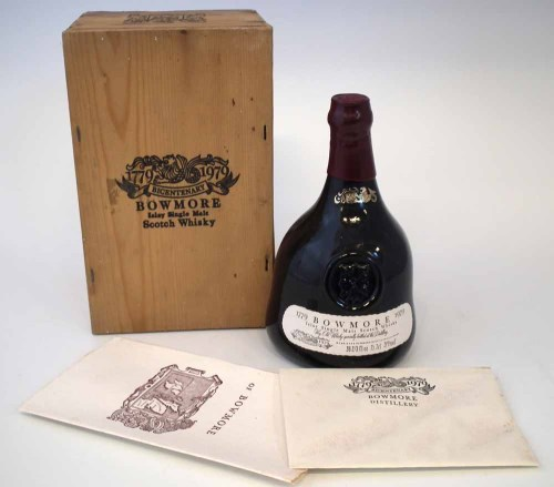 Lot 24-Bowmore 1779-1979 whiskey.