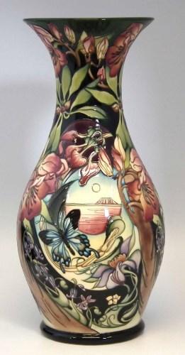 Lot 246-Large Moorcroft vase
