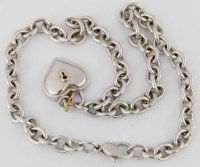 331 - Tiffany sterling silver necklace chain with