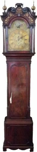 Lot 583-George Lupton, Altrincham longcase clock.