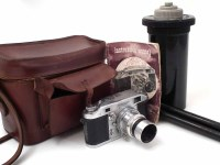28 - Ilford Witness camera and accessories.