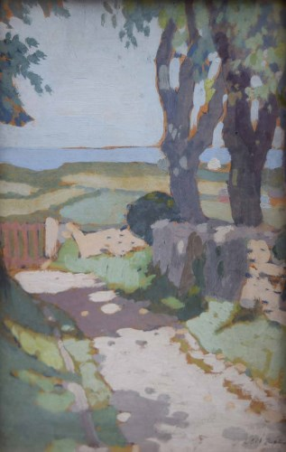494 - Pierre Adolphe Valette, Anglesey, oil.