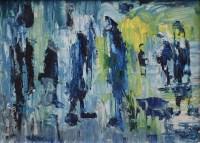 503 - J.L. Isherwood, Wigan Rain, Fog, Shawls, Clogs & Caps, oil.