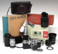 21 - Leica III C and equipment as per list provided.