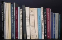 Lot 168-Ceramic reference books relating to the 18th