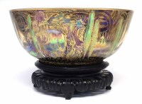 242 - Wedgwood Fairyland lustre bowl with an oriental