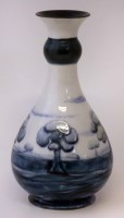 294 - Moorcroft vase.