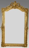 532 - Gilt wall mirror.