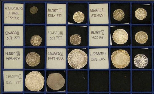 15 - Early GB coinage from Henry III to Charles I