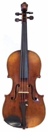 Lot 28-German violin