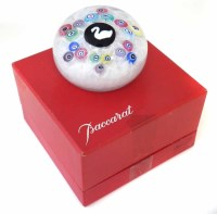 46 - Baccarat paperweight.