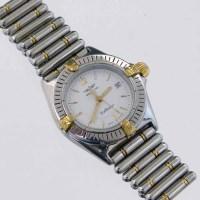 259 - Breitling Callistino lady's bi-metal wristwatch