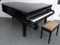 441 - Bechstein 6'6 grand piano in full gloss ebonised