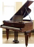 444 - Rosewood Steinharf grand piano.