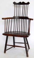 503 - Thames Valley stick back chair.