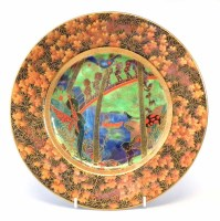 80 - Wedgwood Fairyland lustre plate.