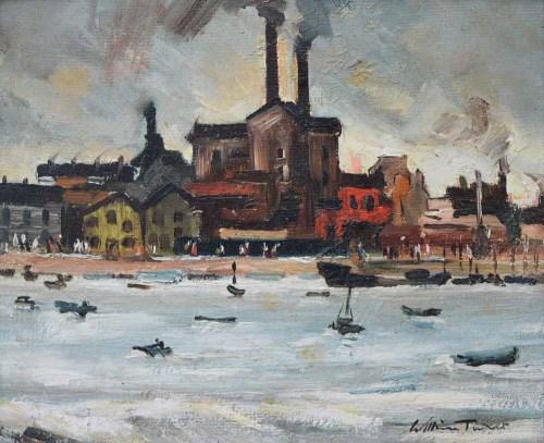 284 - William Turner, Poole Harbour, oil.
