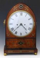 446 - S.J. Cohen bracket clock.