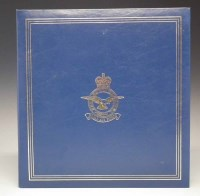 Lot 56-Bound set of bomber command signed V.C.'s