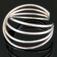 281 - Georg Jensen Alliance bangle, sterling silver