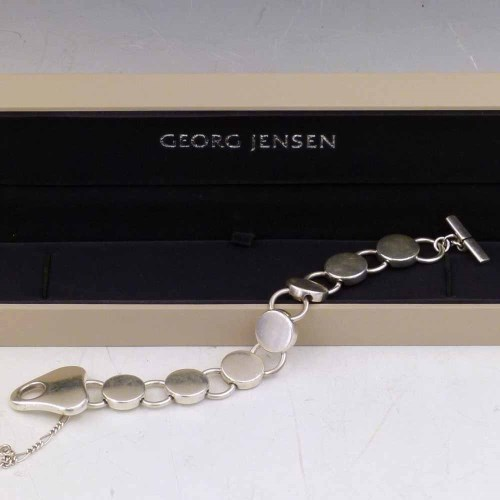 Lot 284-Georg Jensen 925 bracelet by Regitz Ouergaard