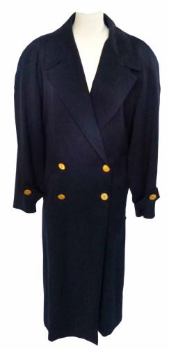 Lot 372 - A Yves Saint Laurent 1980's trench coat