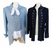 Lot 380-Two Moloh military style jackets and a white shirt