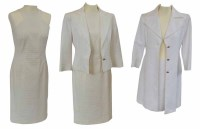 Lot 385-Two Versace Classic suits one dress suit and one