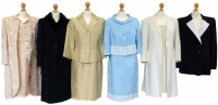 Lot 392-A collection of suits to include Escada, Louis Feraud etc