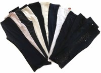 Lot 396-A collection of thirteen pairs of trousers.