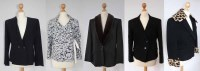 Lot 401-A collection of 5 womens blazers by various designers