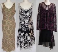 Lot 409-Three occasional dresses
