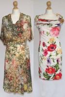 Lot 412-A Vivienne Westwood dress and a Roberto Cavalli dress