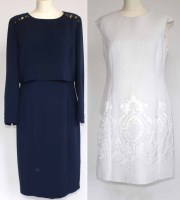 Lot 414-Ted Baker dress and a navy dress by Madeleine