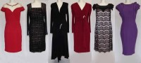 Lot 415-Six occassional dresses