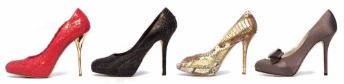 Lot 425 - Four pairs of Christian Dior shoes (4).