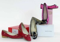 Lot 432 - 3 pairs of ladies flat shoes