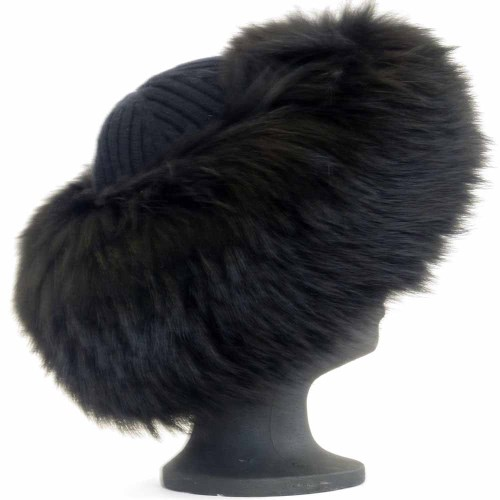 Lot 442 - A Prada fur hat