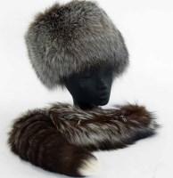 Lot 443 - Two fur headbands