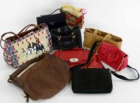 Lot 462 - A collection of bags to include Charles Jourdan etc. (8)