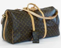 466 - Louis Vuitton Keepall and phone case.