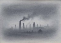 581 - Trevor Grimshaw, Smoke, graphite.