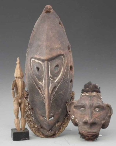 118 - Papua New Guinea Ramu river figure, also a Sepik