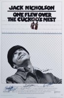 383 - Framed film poster One Flew Over the Cuckoo's Nest.