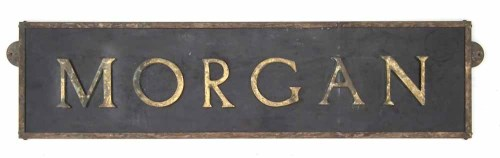 Lot 460 - Morgan Motor Co. showroom advertising sign