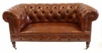474 - Victorian Chesterfield sofa by Howard,