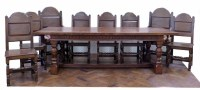 503 - Manufactured by Bylaw refectory table
