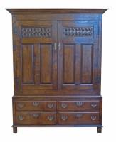 504 - 18th century design press cupboard made Bylaw,