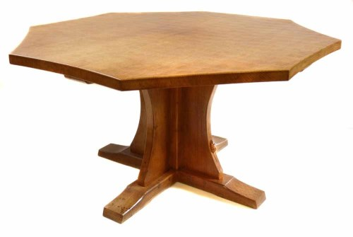 Lot 513-Mouseman dining table